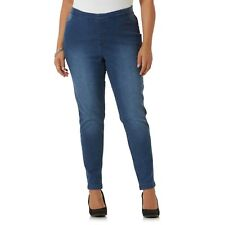 Women's Simply Emma Plus Straight Leg Jeans Medium Wash Size 22 W