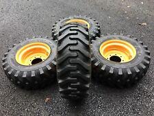 4 New 12x165 Tires Amp Rims For Case 1845 1845c Xt Amp 400 Series 12 165
