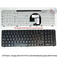 Genuine HP US Int'L Frame Keyboard for Pavilion dv7-5000ev dv7-5012tx