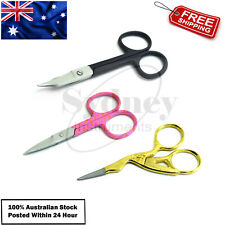 Cuticle Toe Nail Scissors Pink, Black, Gold, Manicure Baby Nail Care Chiropody