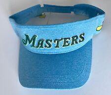 2018 Masters golf visor Blue augusta national new pga