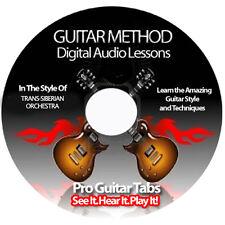 TRANS-SIBERIAN ORCHESTRA Guitar Tab Software Lesson CD + BACKING TRACKS + BONUS