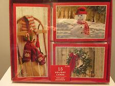 Image Arts Christmas Card BXC1681  $13.99 15 ct mini card Get Free Ship see desc