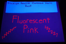 Tulip 1.25oz Neon Blacklight Reactive Fabric Paint- Fluorescent Pink