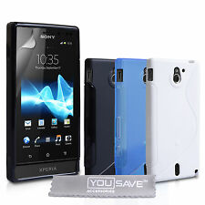 Accessories For The Sony Xperia Sola MT27i Stylish Silicone Gel Case Cover Skin