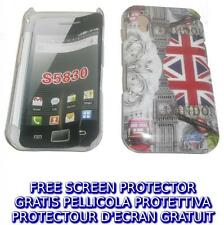 Pellicola+custodia BACK COVER BIG BEN rigida per Samsung Galaxy Ace S5830
