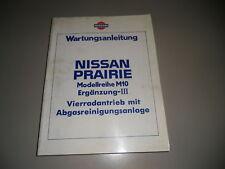 Werkstatthandbuch Nissan Prairie M10 Allrad Ergänzung