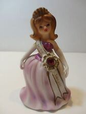 VTG Lefton 'Miss January' Birthday figurine from the Pageant series #5146