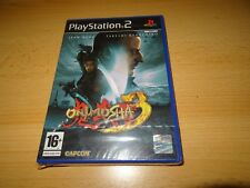 Onimusha 3 Demon Siege BRAND NEW & FACTORY SEALED PAL UK PS2 PlayStation 2