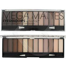 Paleta de Sombras de Ojos Mega Mate desnuda Technic 12 Tonos Naked natural sombra de ojos