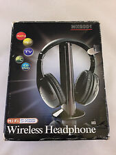 WIRELESS HEADPHONES MH2001 5-IN-1 WIRELESS HEADSET MICROPHONE EMITTER, FM RADIO