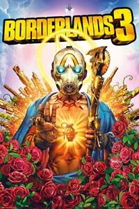 BORDERLANDS 3 - COVER ART POSTER 24x36 - VIDEO GAME 34371