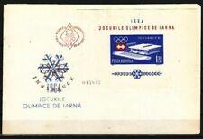 Briefmarken aus Rumänien mit Olympische Spiele-Motiv