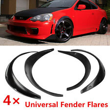 Universal 4pcs JDM Fender Wheel Arches Flare extension flares wide 4 arches set
