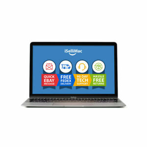 "Apple 12"" MacBook 2017 1.3GHz 512GB SSD 8GB A1534 MNYG2LL/A +A Grade"