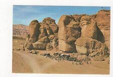 King Solomons Pillars Near Eilat Postcard 615a