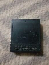 Black Nintendo Memory Card for GameCube