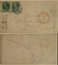 USA Cincinnati Cover to Ireland Ballymote 1871
