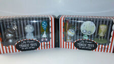 RARE SOLD OUT Tim Burtons Tragic Toys for Girls and Boys Set SEALED 2009