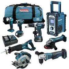 12tlg. MAKITA 18V Profi Akku Werkzeug Set +DDA351 RMJ Winkelbohrmaschine RFE RME