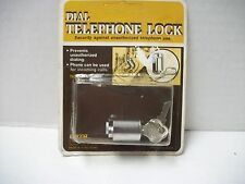 New Vintage Dial Telephone Lock Loxem No. 1370