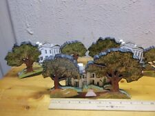 Vintage Gone with the WInd Shelf Sitters Facades (Tara, Wilkes) by Sheila X3