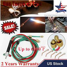 Hot Sale Jeweler Mini Gas Micro Little Torch Welding Soldering Kit 5 Tips In Box