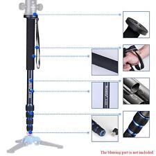 Telescopic Adjustable Photography DSLR Camera Camcorder Monopod Unipod Pole Y3S0