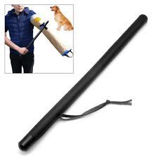 Professional Leather Dog Training Whip Agitation Stick Exercise Tool with Handle