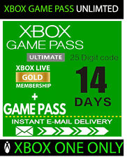 XBOX LIVE GOLD 14 Day + Game Pass (Ultimate) Trial Code INSTANT DELIVERY 24/7