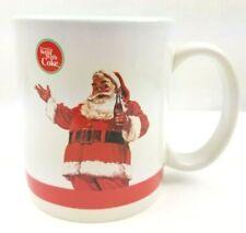 Coca Cola Co. Christmas Santa Mug Cup #4204 Things Go Better With Coke Vintage