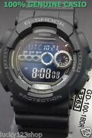 GD-100-1B Black Casio Watch G-Shock 200M WR Analog Digital X-Large Resin New