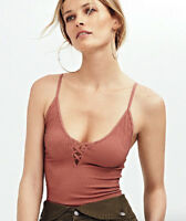 NEW Free People Intimately The Crossfire Cami Tank Copper Size XS/S & M/L $42.71