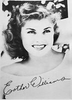 1940's Vintage Esther Williams Studio Signed Portrait Photo