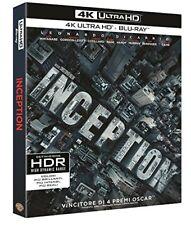 INCEPTION DI NOLAN CON LEONARDO DI CAPRIO (4K ULTRA HD) ITALIANO, NUOVO
