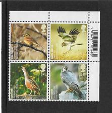 GB 2007 -  Endangered Species Birds Plate Block - MNH.