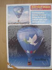 Heissluftballon Friedensballon Schreiber-Bogen Kartonbausatz *NEU* Bastelbogen