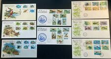 More details for fdc lot: bermuda and st. vincent 1974, 1975, 1978, 1979. 8 in all.