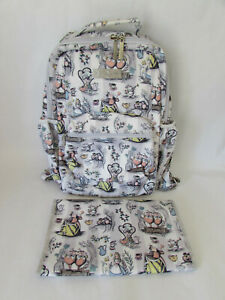 Jujube x Disney It's A Mad Mad World Alice In Wonderland Be Packed Backpack Plus