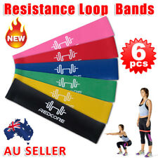6 PCS Resistance Bands for Exercise Men and Women Legs Arms Booty Yoga Physio