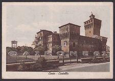 FERRARA CENTO 03 CASTELLO Cartolina viaggiata 1940