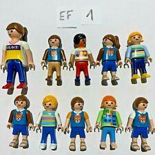 Lot 10 Personnages PLAYMOBIL Ecole Maitresse Enfants - CHOISIR entre EF1 à EF9