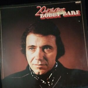Bobby Bare - 20 Of The Best Vinyl Lp In Good Condition