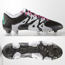 adidas X 15.2 FG AG Mens Football Boots Black Mint Firm Ground SIZE 9 9.5 10