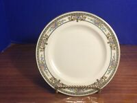 Antique Crown Lion Ivory Carinthia Bread Butter Plate Hutschenreuther Bavaria