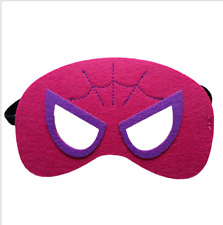Girs &Boys Superhero Mask for kids birthday party favors and ideas Spidergirl