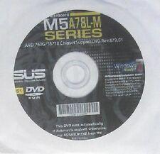 original Asus Mainboard Treiber CD DVD M5A78L-M LE NEU OVP Driver Win7 Vista XP