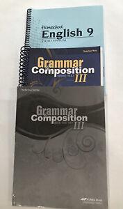 Abeka 9th Grade English Homeschool Curriculum