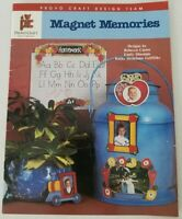 Provo Craft MAGNETIC MEMORIES Craft Tole Painting Patterns Instructions Book