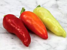 25 Semi Peperoncino piccante Varietà: Santa Fe Grande hot Pepper seeds grain